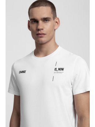 T-shirt męski TSM209 - biały