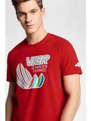 Koszulka męska 4Hills TSM100 - czerwony