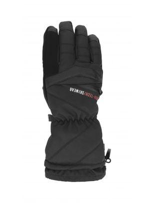 Rękawice narciarskie męskie REM150 - głęboka czerń