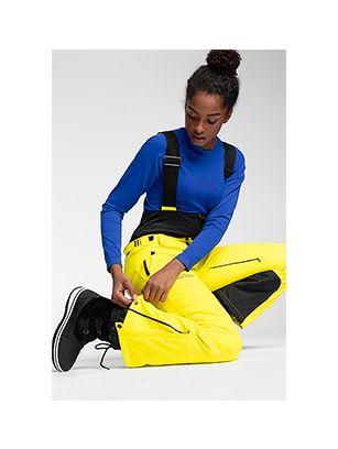 Spodnie narciarskie HQ Performance SPDN102A - żółty