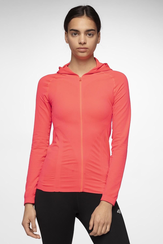 Bluza treningowa damska BLDF301 - czerwony