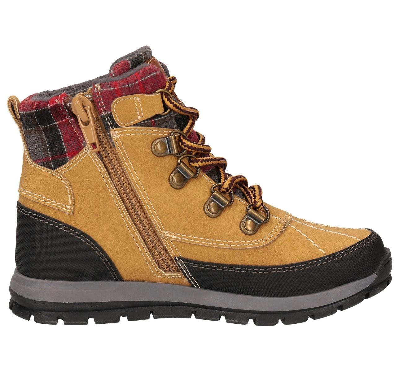 Buty jesienne dla dużych dzieci (chłopców) JOBMA202 – żółty allover