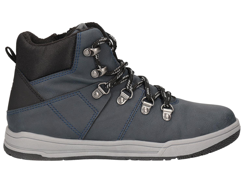 Buty jesienne dla dużych dzieci (chłopców) JOBMA203 – granat