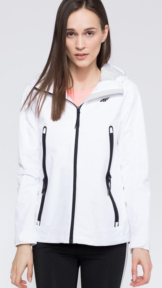 Kurtka miejska damska KUD250 - biały