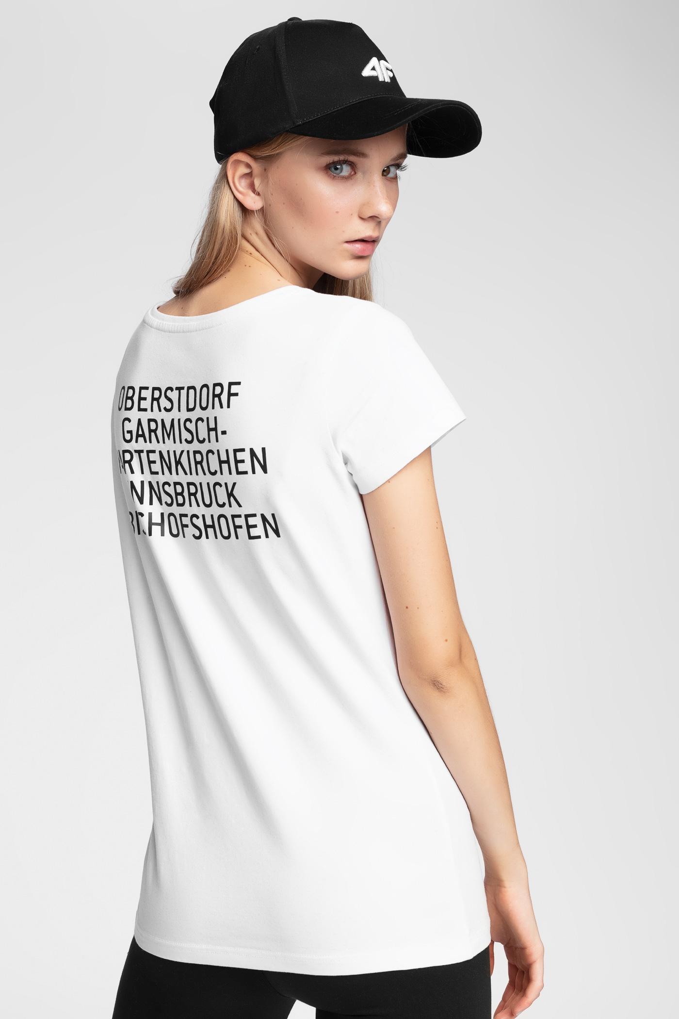 Koszulka damska 4Hills TSD101 - biały