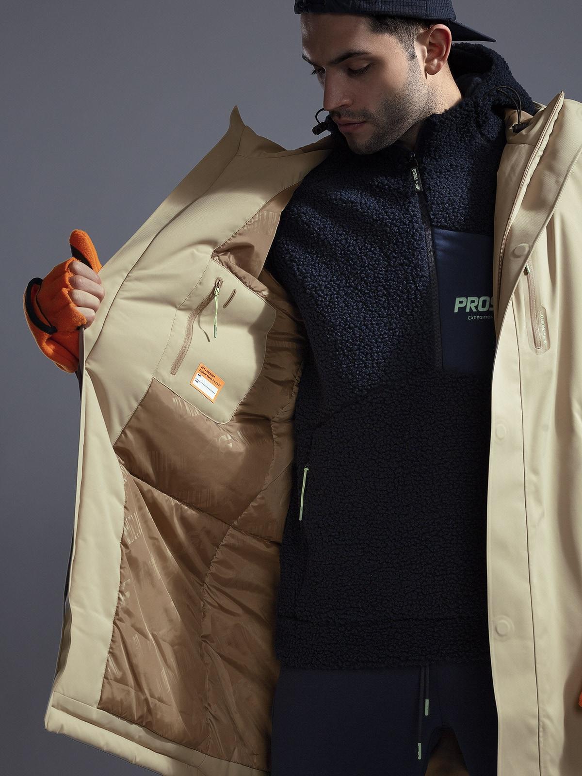 Płaszcz męski 4F x PROSTO