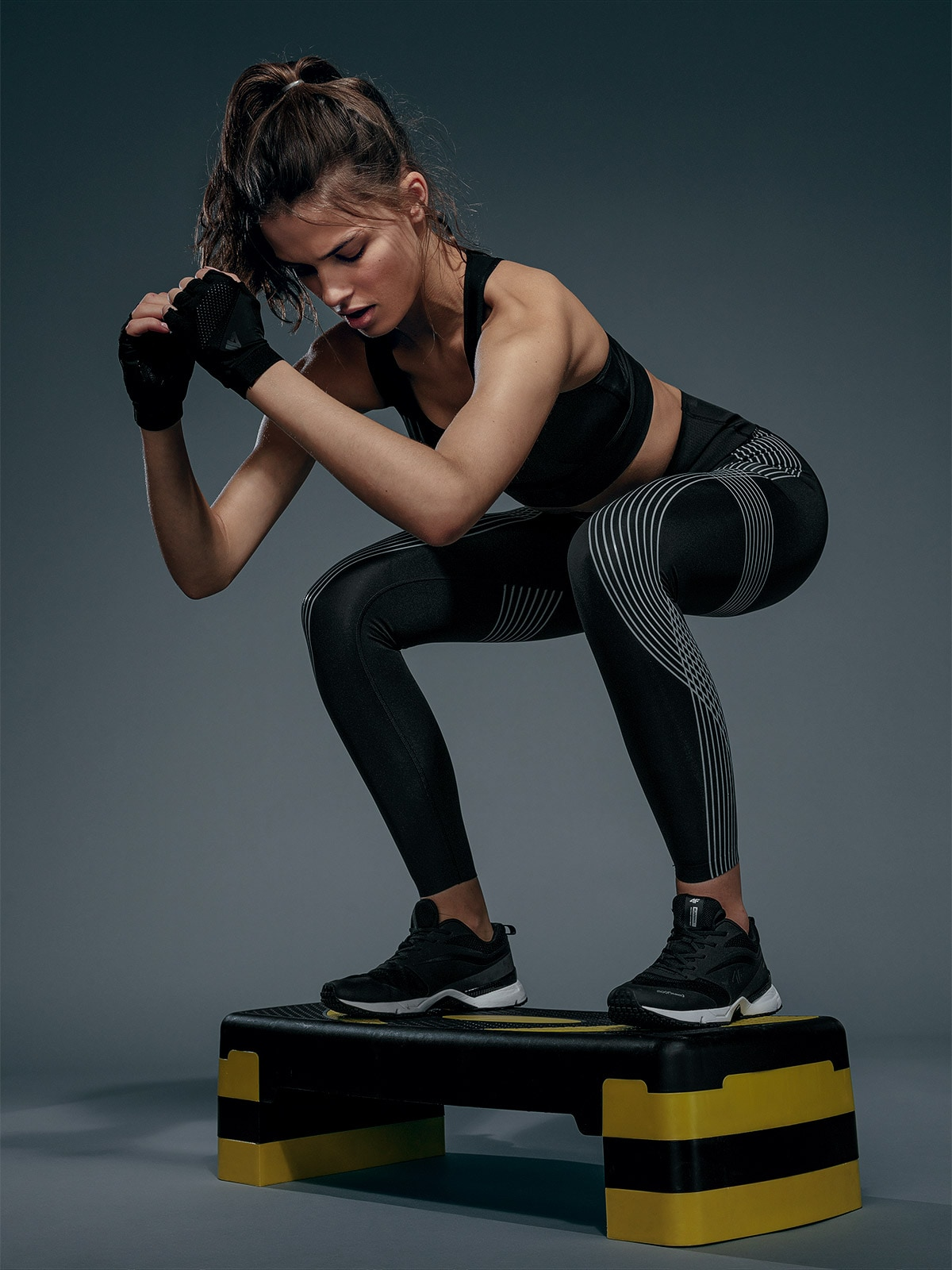 Legginsy treningowe damskie (athletic) 4FPro
