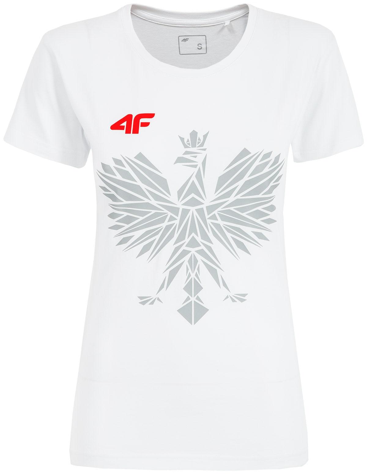 5ad7d771de3df2 Koszulka kibica PZLA damska TSDF101 - biały