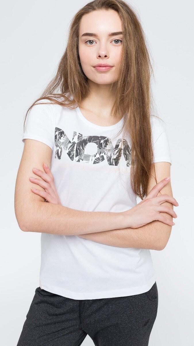 T-shirt damski TSD008 - biały