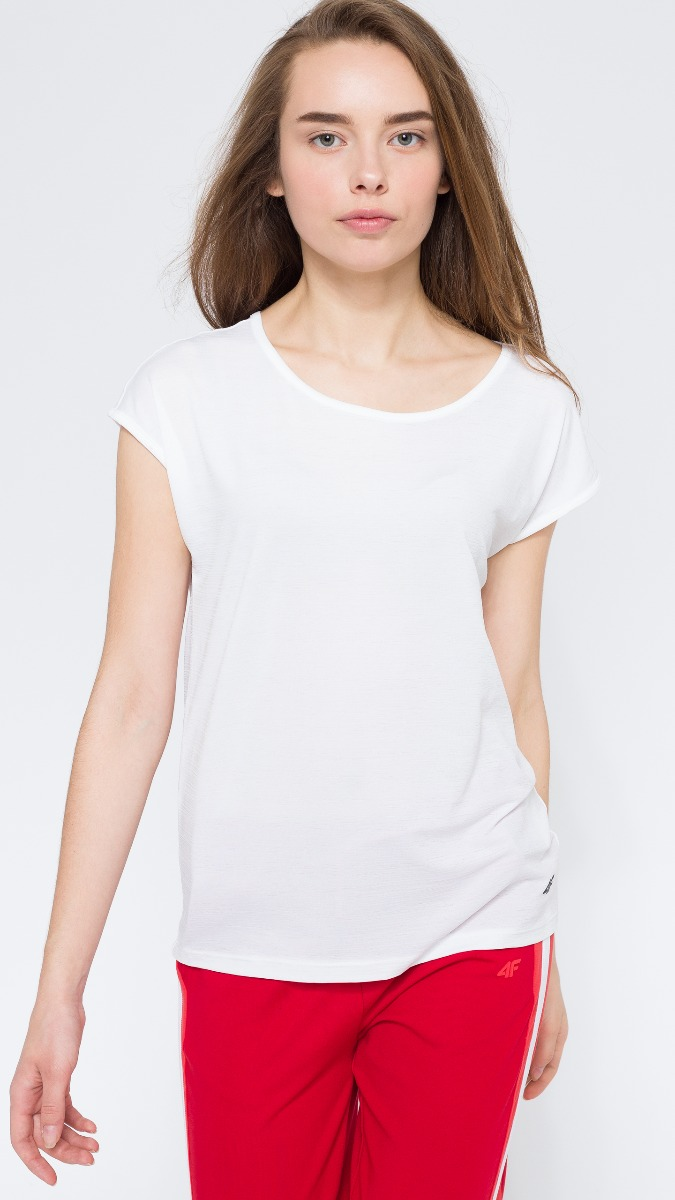 T-shirt damski TSD216 - biały