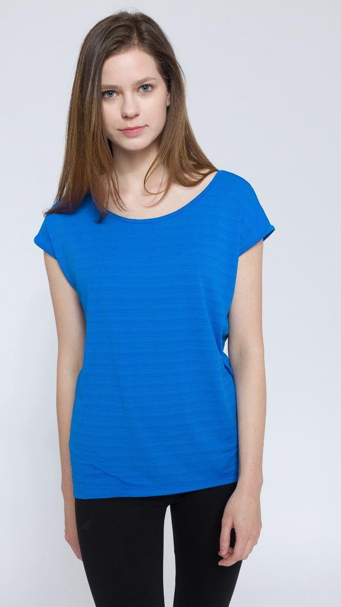 T-shirt damski TSD216 - turkus