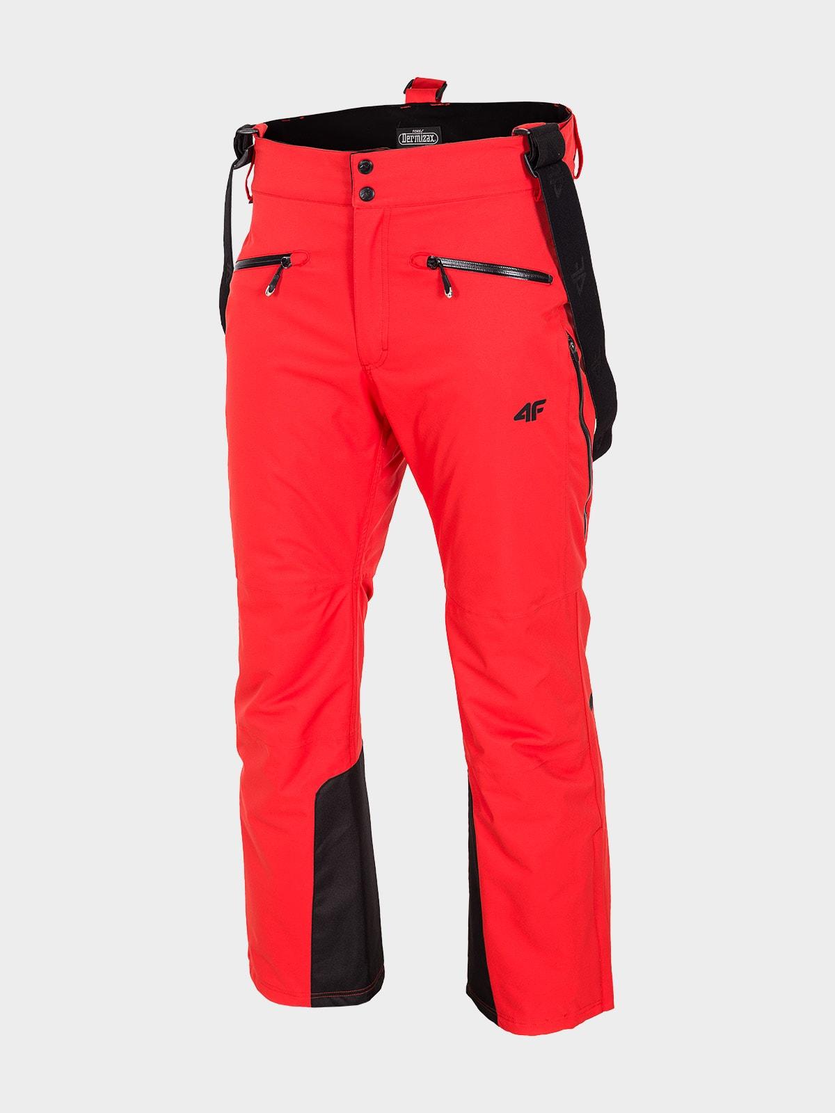 Spodnie narciarskie HQ Performance SPMN151 - czerwony