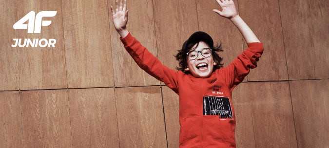 Odzież 4f dla chłopca kurtka spodnie koszulka bluza