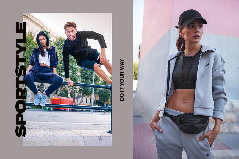 4F odzież, obuwie oraz akcesoria sportowe na miarę olimpijską.