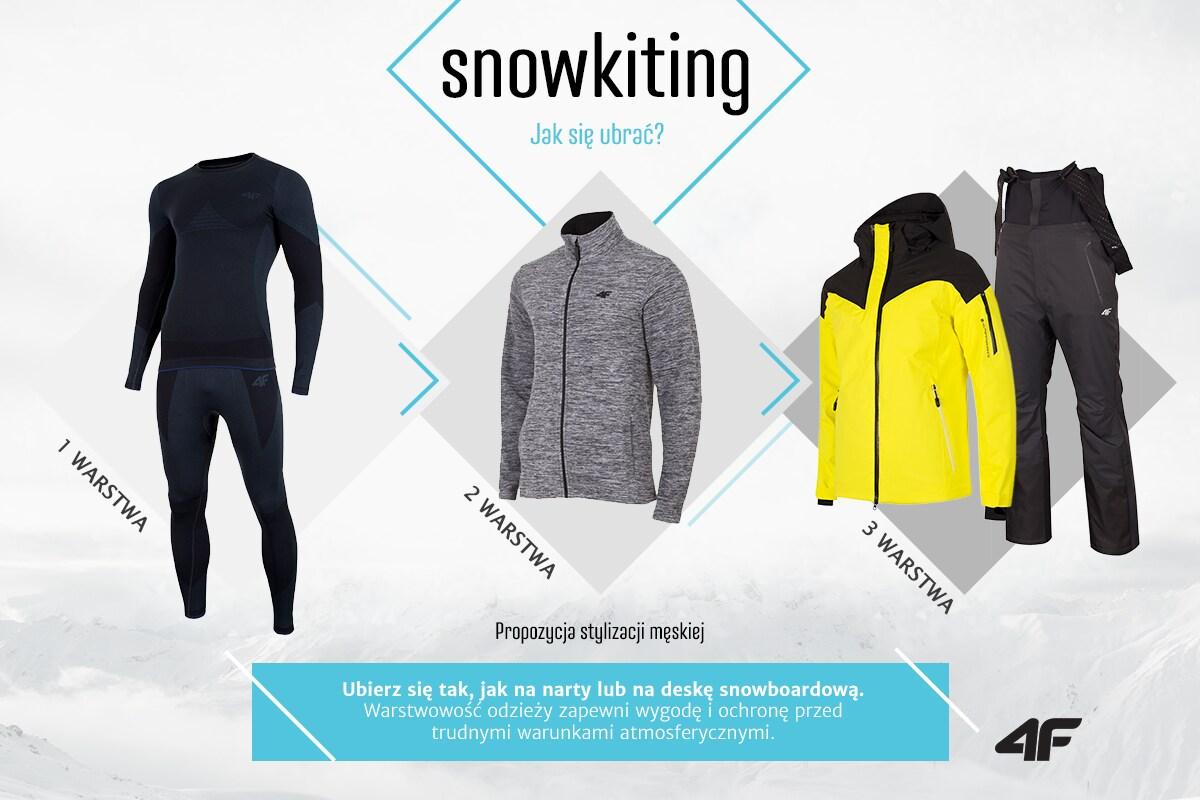 Snowkiting - jak się ubrać?