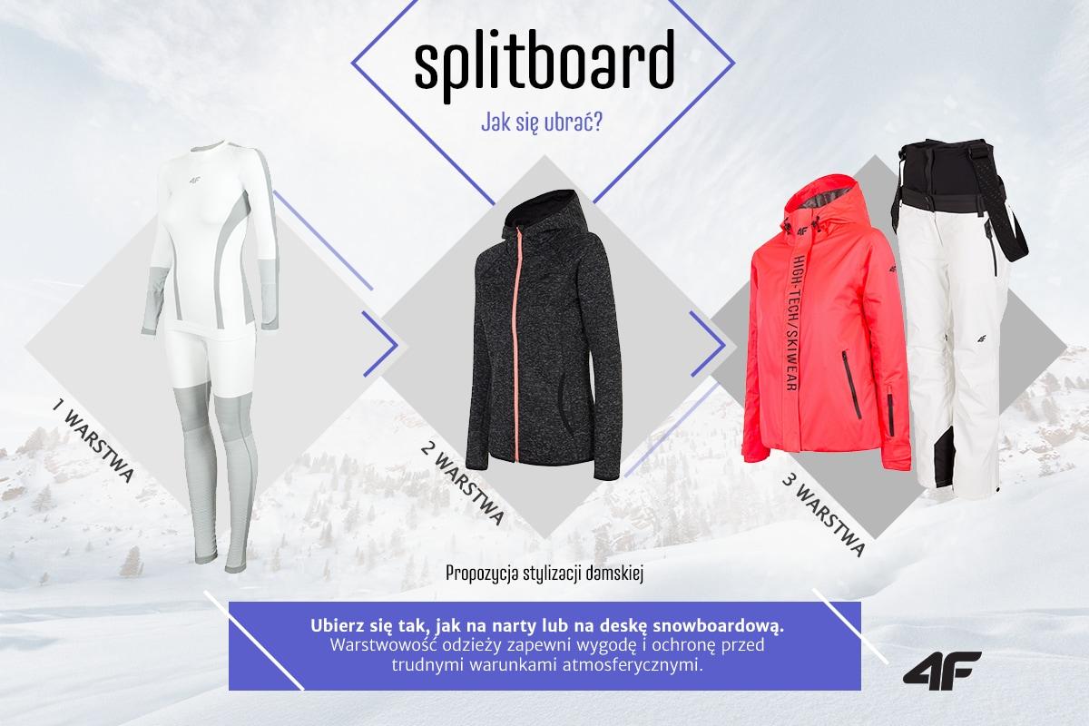Splitboard - jak się ubierać?