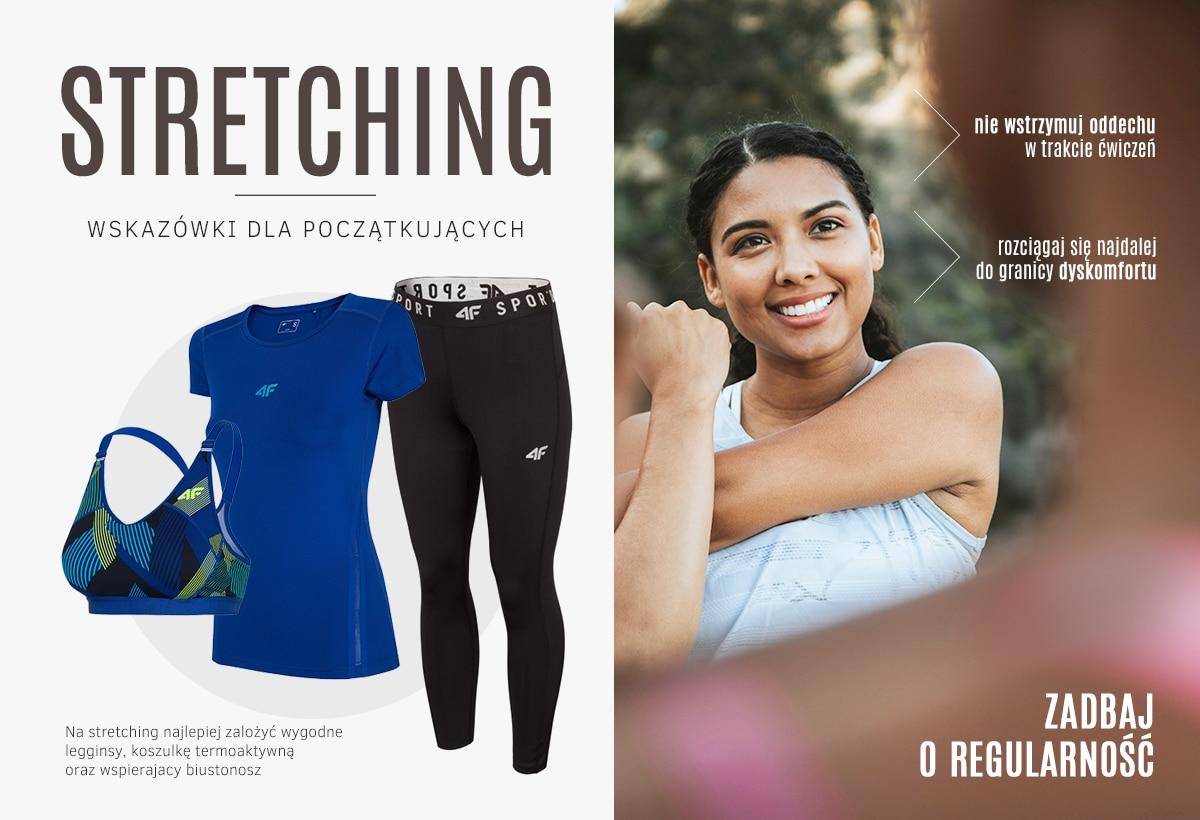 Stretching - wskazówki dla początkujących - kolekcja damska