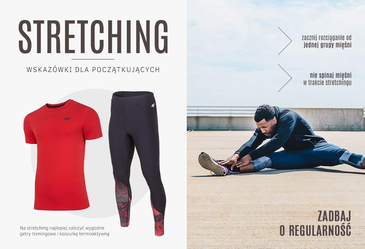 Stretching - wskazówki dla początkujących - kolekcja męska