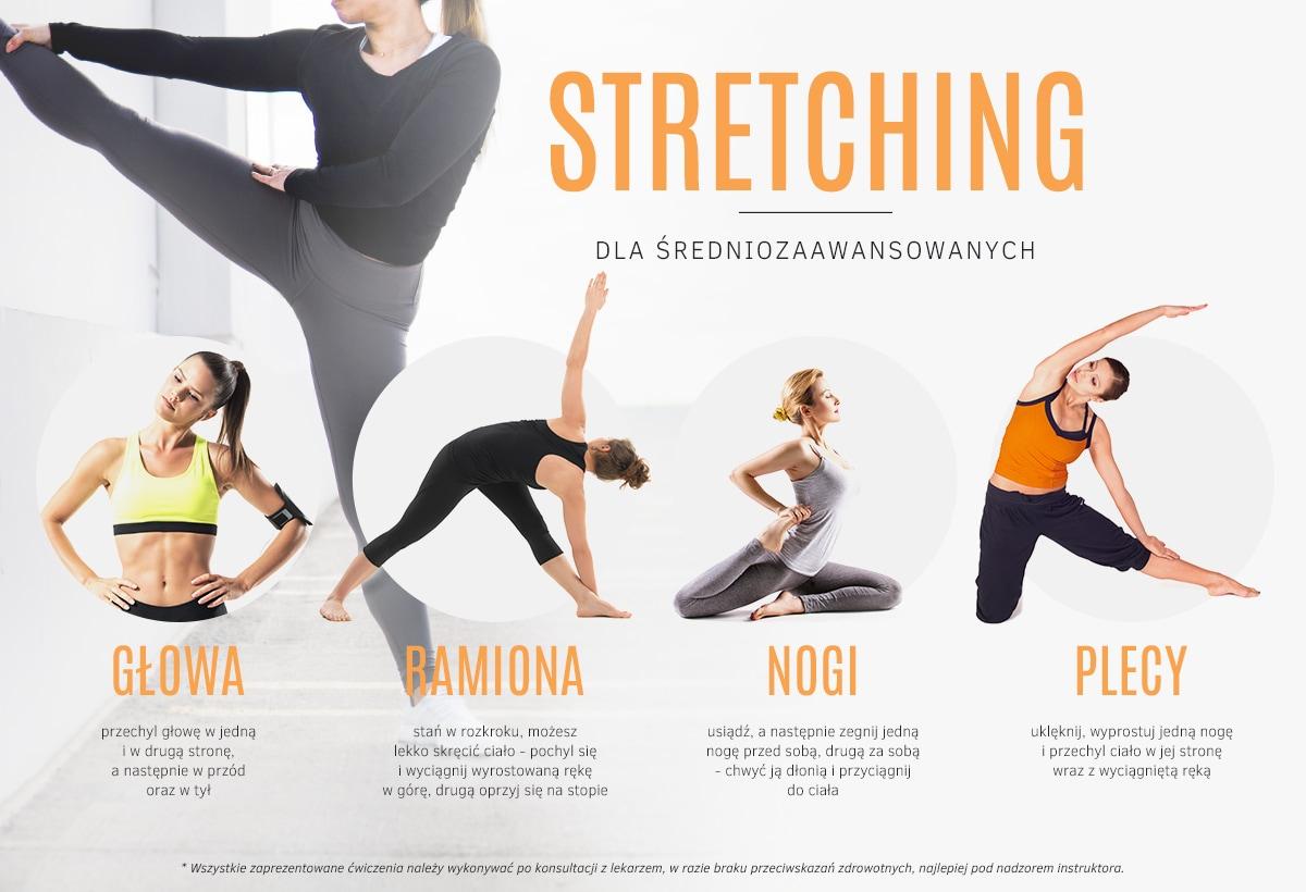 Stretching dla średniozaawansowanych