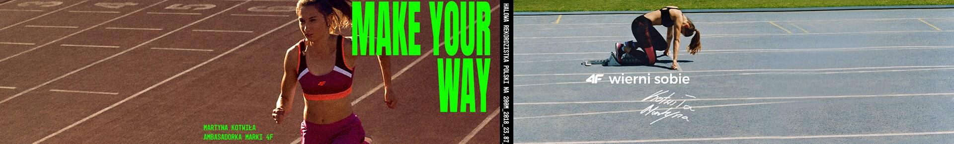 Podążaj swoją drogą. 4F Wierni sobie